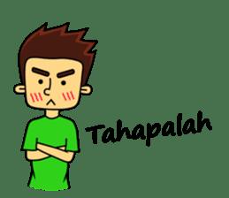 Si Togar Anak Medan sticker #9570980