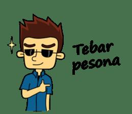 Si Togar Anak Medan sticker #9570981