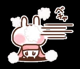 Little rabbit/onomatopoeia Ver. sticker #9572825
