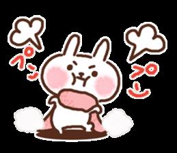 Little rabbit/onomatopoeia Ver. sticker #9572826