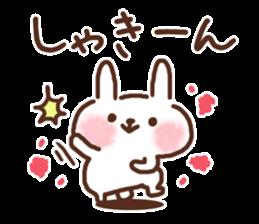 Little rabbit/onomatopoeia Ver. sticker #9572827