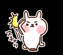 Little rabbit/onomatopoeia Ver. sticker #9572828