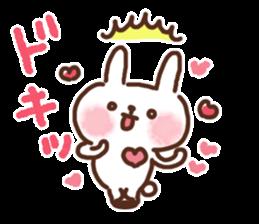 Little rabbit/onomatopoeia Ver. sticker #9572829