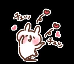 Little rabbit/onomatopoeia Ver. sticker #9572831