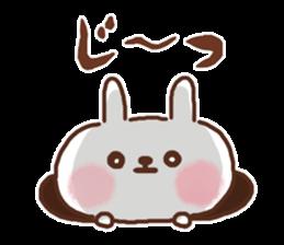 Little rabbit/onomatopoeia Ver. sticker #9572836