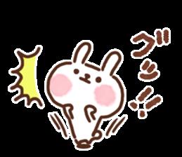Little rabbit/onomatopoeia Ver. sticker #9572837