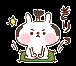 Little rabbit/onomatopoeia Ver. sticker #9572838