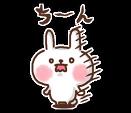 Little rabbit/onomatopoeia Ver. sticker #9572839