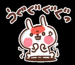 Little rabbit/onomatopoeia Ver. sticker #9572842