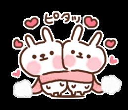 Little rabbit/onomatopoeia Ver. sticker #9572847