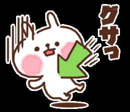 Little rabbit/onomatopoeia Ver. sticker #9572850