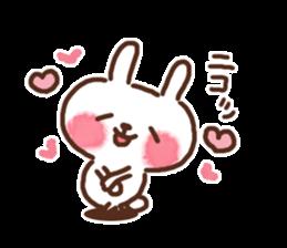 Little rabbit/onomatopoeia Ver. sticker #9572852