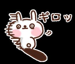 Little rabbit/onomatopoeia Ver. sticker #9572853