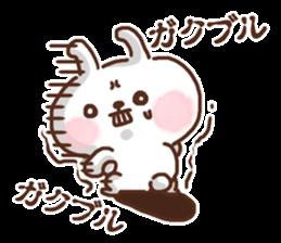Little rabbit/onomatopoeia Ver. sticker #9572855