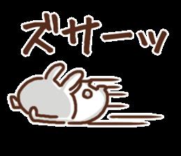 Little rabbit/onomatopoeia Ver. sticker #9572857