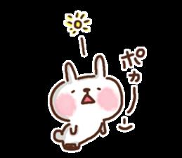 Little rabbit/onomatopoeia Ver. sticker #9572859