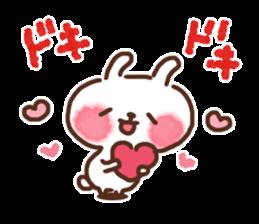 Little rabbit/onomatopoeia Ver. sticker #9572862