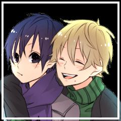 two high school boys