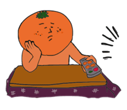 Funny vegetables and fruits sticker #9576569