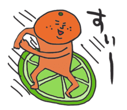 Funny vegetables and fruits sticker #9576595