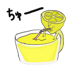 Funny vegetables and fruits sticker #9576599