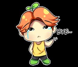Min Mini The Orange Boy sticker #9577041