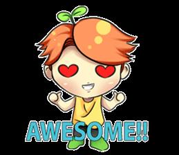 Min Mini The Orange Boy sticker #9577042