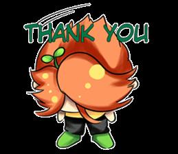 Min Mini The Orange Boy sticker #9577043