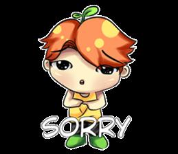 Min Mini The Orange Boy sticker #9577048