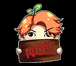 Min Mini The Orange Boy sticker #9577050