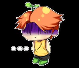 Min Mini The Orange Boy sticker #9577053