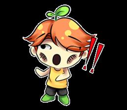 Min Mini The Orange Boy sticker #9577057