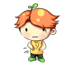 Min Mini The Orange Boy sticker #9577060