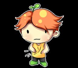 Min Mini The Orange Boy sticker #9577060