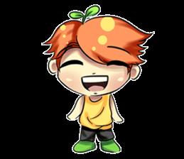Min Mini The Orange Boy sticker #9577063