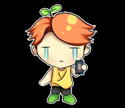 Min Mini The Orange Boy sticker #9577067