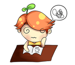 Min Mini The Orange Boy sticker #9577068