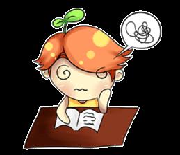 Min Mini The Orange Boy sticker #9577068