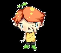 Min Mini The Orange Boy sticker #9577069