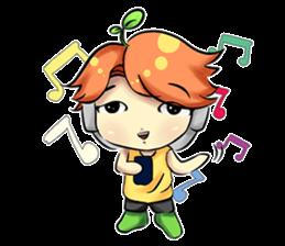 Min Mini The Orange Boy sticker #9577073