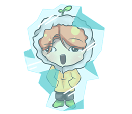 Min Mini The Orange Boy sticker #9577077