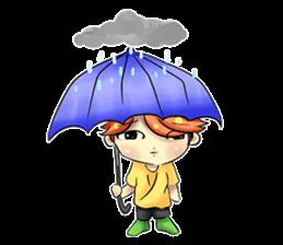 Min Mini The Orange Boy sticker #9577078