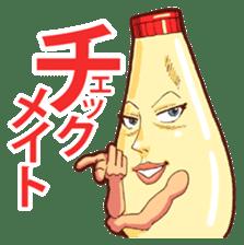 Mayonnaise Man 10 sticker #9578461