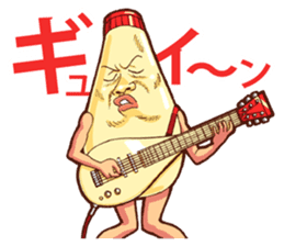 Mayonnaise Man 10 sticker #9578472
