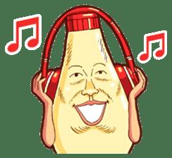 Mayonnaise Man 10 sticker #9578473