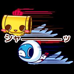 Sticker of fish