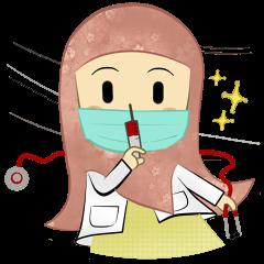 Medical Student (Hijab ver.)
