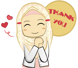 Medical Student (Hijab ver.) sticker #9584081