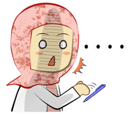 Medical Student (Hijab ver.) sticker #9584084