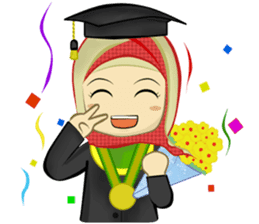 Medical Student (Hijab ver.) sticker #9584085